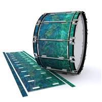 Dynasty 1st Generation Bass Drum Slip - Aquamarine Blue Pearl (Aqua)