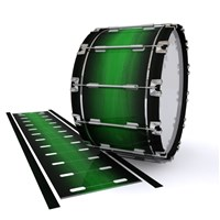 Dynasty 1st Generation Bass Drum Slip - Asparagus Stain Fade (Green)
