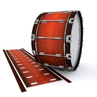 Dynasty 1st Generation Bass Drum Slip - Autumn Fade (Orange)