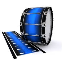 Dynasty 1st Generation Bass Drum Slip - Azure Stain Fade (Blue)