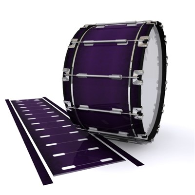 Dynasty 1st Generation Bass Drum Slip - Black Cherry (Purple)