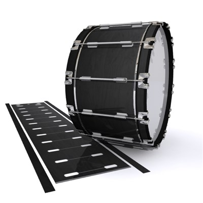 Dynasty 1st Generation Bass Drum Slip - Black Stain (Neutral)