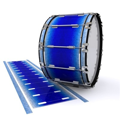 Dynasty 1st Generation Bass Drum Slip - Blue Wonderland (Blue)