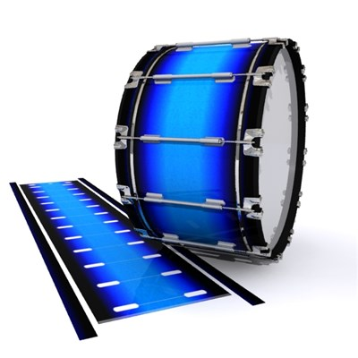 Dynasty 1st Generation Bass Drum Slip - Bluez (Blue)