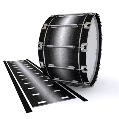 Dynasty 1st Generation Bass Drum Slip - Burnout Black (Neutral)