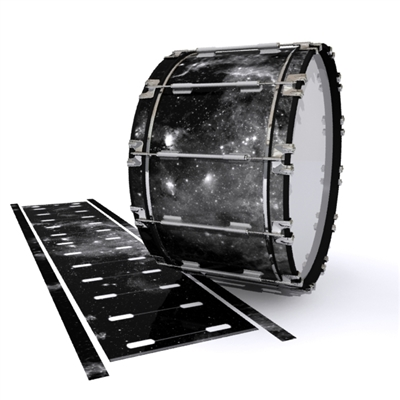 Dynasty 1st Generation Bass Drum Slip - BW Galaxy (Themed)