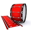 Dynasty 1st Generation Bass Drum Slip - Cherry Pickin' Red (Red)