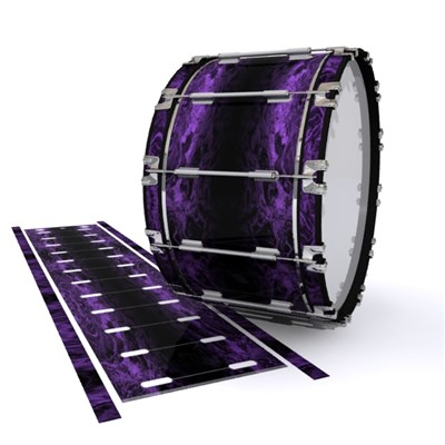 Dynasty 1st Generation Bass Drum Slip - Coast GEO Marble Fade (Purple)