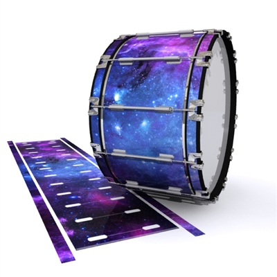 Dynasty 1st Generation Bass Drum Slip - Colorful Galaxy (Themed)