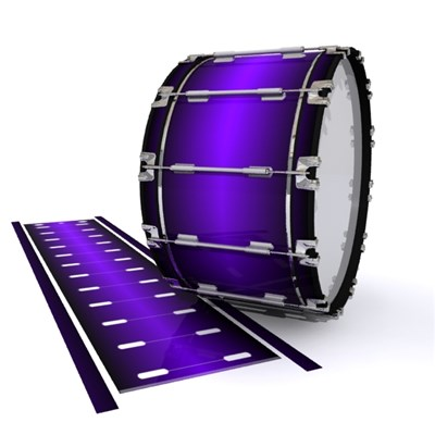 Dynasty 1st Generation Bass Drum Slip - Cosmic Purple (Purple)