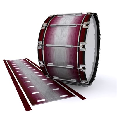 Dynasty 1st Generation Bass Drum Slip - Cranberry Stain (Red)