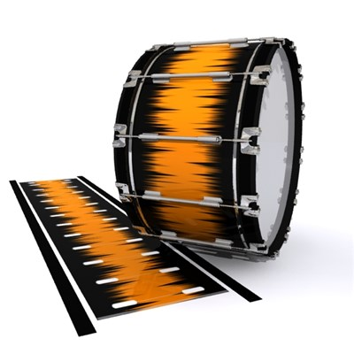 Dynasty 1st Generation Bass Drum Slip - Daybreak (Orange)