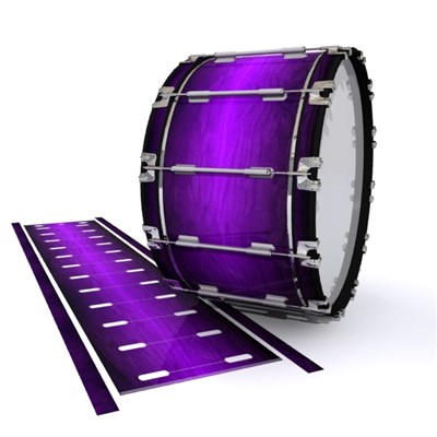 Dynasty 1st Generation Bass Drum Slip - Distant Galaxy Fade (Purple)