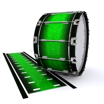 Dynasty 1st Generation Bass Drum Slip - Emerald Fade (Green)