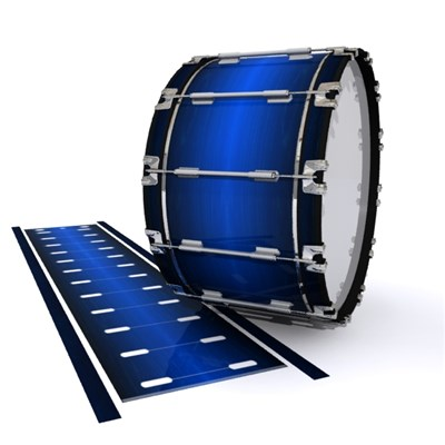 Dynasty 1st Generation Bass Drum Slip - Fathom Blue Stain (Blue)