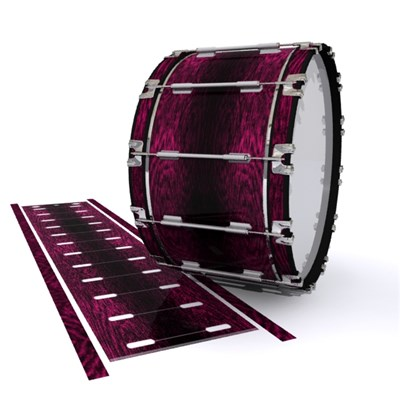 Dynasty 1st Generation Bass Drum Slip - Festive Pink Rosewood (Pink)