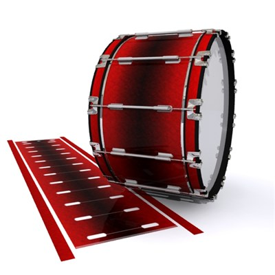 Dynasty 1st Generation Bass Drum Slip - Firestorm (Red)