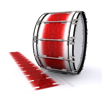 Dynasty 1st Generation Bass Drum Slip - Frosty Red (Red)