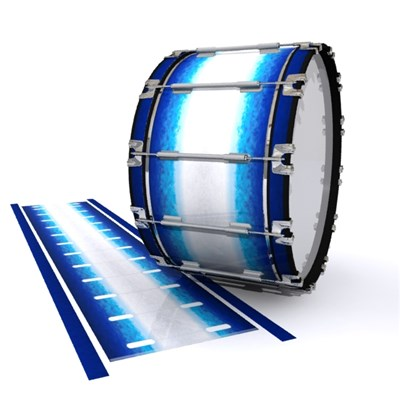 Dynasty 1st Generation Bass Drum Slip - Glacier Blue (Blue)