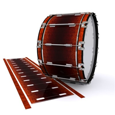 Dynasty 1st Generation Bass Drum Slip - Hot Lava (Orange)