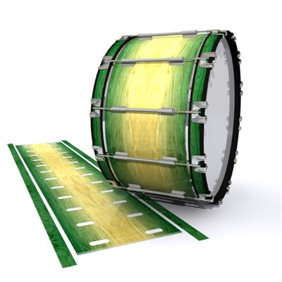 Dynasty 1st Generation Bass Drum Slip - Jungle Stain Fade (Green)