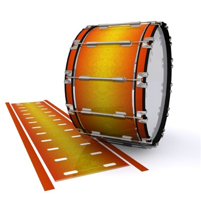 Dynasty 1st Generation Bass Drum Slip - Madagascar Sunset (Yellow) (Orange)