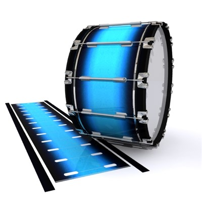 Dynasty 1st Generation Bass Drum Slip - Maldive Blue (Blue)