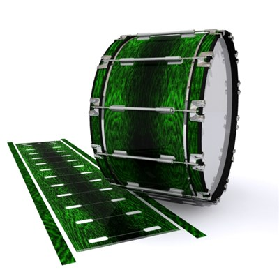 Dynasty 1st Generation Bass Drum Slip - Mantis Green Rosewood (Green)