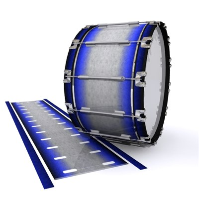 Dynasty 1st Generation Bass Drum Slip - Meteorite Fade (Blue)