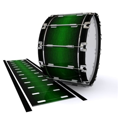 Dynasty 1st Generation Bass Drum Slip - Midnight Forest (Green)