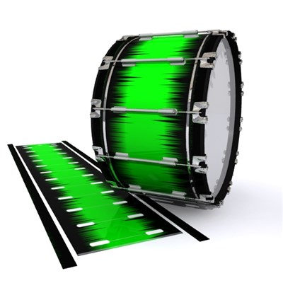 Dynasty 1st Generation Bass Drum Slip - Nightbreak (Green)