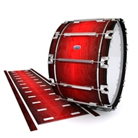 Dynasty Custom Elite Bass Drum Slip - Active Red (Red)