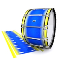 Dynasty Custom Elite Bass Drum Slip - Afternoon Fade (Blue)