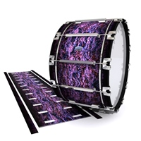 Dynasty Custom Elite Bass Drum Slip - Alien Purple Grain (Purple)
