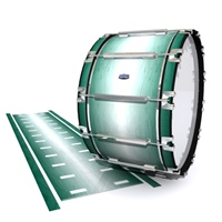 Dynasty Custom Elite Bass Drum Slip - Alpine Fade (Green)