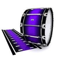 Dynasty Custom Elite Bass Drum Slip - Amethyst Haze (Purple)
