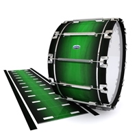 Dynasty Custom Elite Bass Drum Slip - Asparagus Stain Fade (Green)