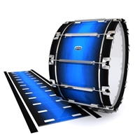 Dynasty Custom Elite Bass Drum Slip - Azure Stain Fade (Blue)