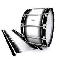 Dynasty Custom Elite Bass Drum Slip - Black Magic Fade (Neutral)