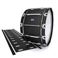 Dynasty Custom Elite Bass Drum Slip - Black Stain (Neutral)
