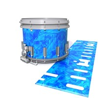 Dynasty DFX 1st Gen. Snare Drum Slip  - Blue Cosmic Glass (Blue)