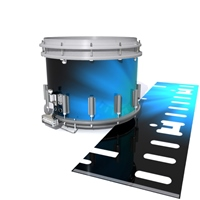 Dynasty DFX 1st Gen. Snare Drum Slip  - Blue Light Rays (Themed)