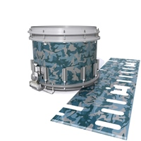 Dynasty DFX 1st Gen. Snare Drum Slip  - Blue Slate Traditional Camouflage (Blue)