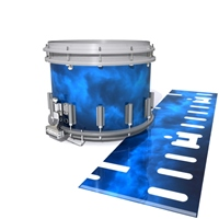 Dynasty DFX 1st Gen. Snare Drum Slip  - Blue Smokey Clouds (Themed)