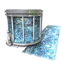 Dynasty Custom Elite Snare Drum Slip - Aeriform (Blue)
