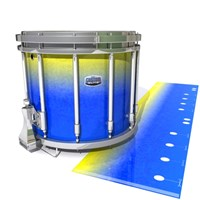 Dynasty Custom Elite Snare Drum Slip - Afternoon Fade (Blue)
