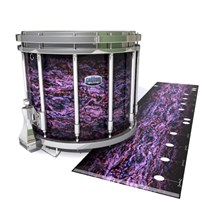 Dynasty Custom Elite Snare Drum Slip - Alien Purple Grain (Purple)