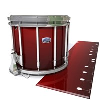 Dynasty Custom Elite Snare Drum Slip - Apple Maple Fade (Red)