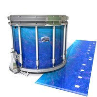 Dynasty Custom Elite Snare Drum Slip - Aquatic Blue Fade (Blue)
