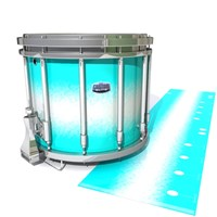 Dynasty Custom Elite Snare Drum Slip - Aqua Wake (Aqua)